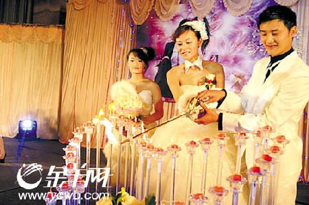 田亮唯美婚礼迎娶叶一茜被传奉子成婚(组图)