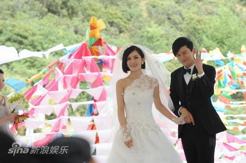 2011年9月26日,张杰、谢娜在云南迪庆州香格里拉举行婚礼