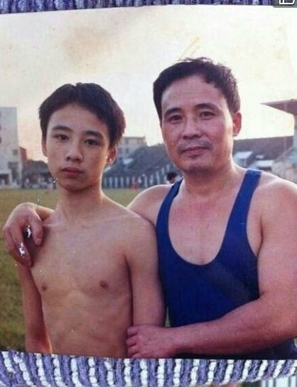 父子22年前合照