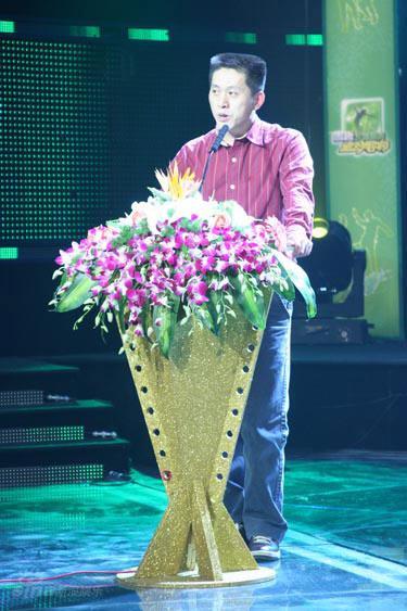 08绝对唱响启动 绝对唱响负责人王培杰图片
