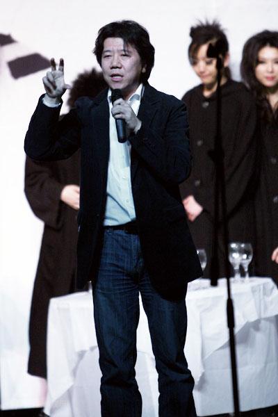 图文:刘烨而立之年庆生--导演孟京辉