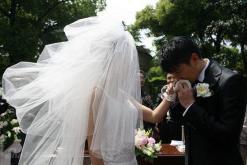保剑锋何珈好办隆重婚礼众亲友盼早生贵子(图)