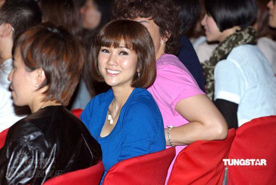 图文:张敬轩方大同拉阔演唱会-谢安琪到场助阵
