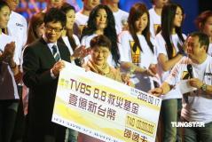 邵逸夫妻子宣布致台湾同胞书捐款两千万(组图)