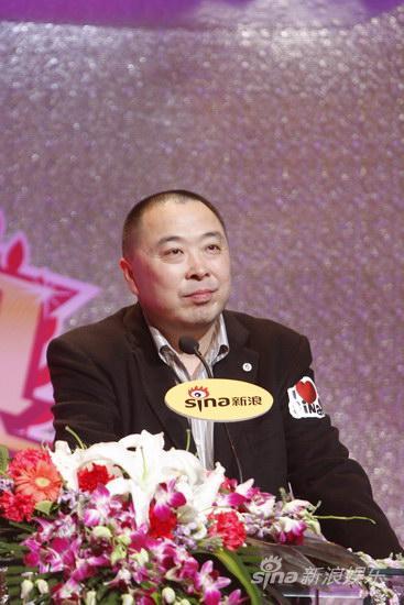 图文:2009新浪网络盛典-华视传媒CEO李利民发言
