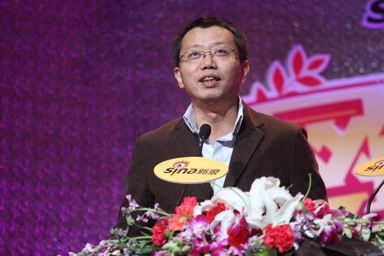 图文:2009新浪网络盛典--太合麦田老总宋柯