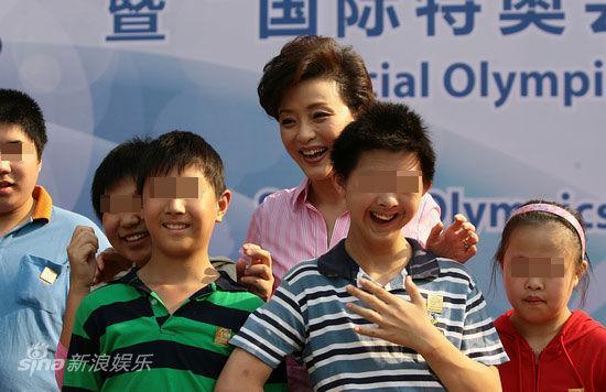 杨澜和智障儿童