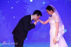 女星张瑶出嫁保利高层孙楠证婚众星亮相捧场