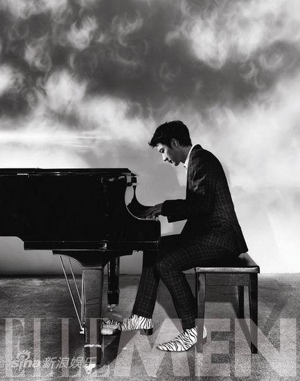 绅士的钢琴歌谱图片