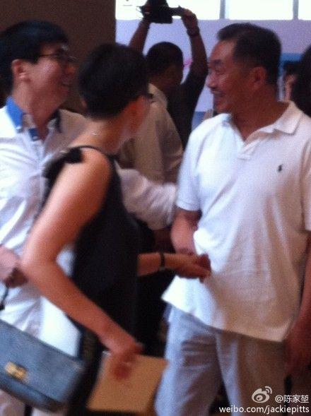 宋丹丹、杜源、范明到达婚礼现场