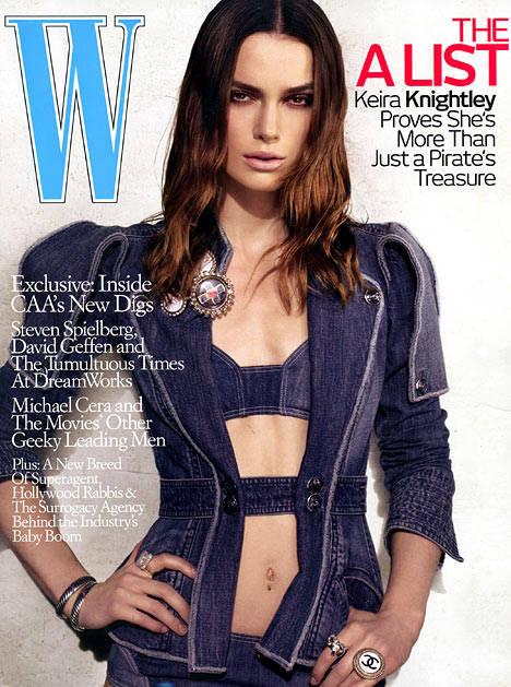 奈特利屡上美杂志封面英伦玫瑰进军好莱坞(图)