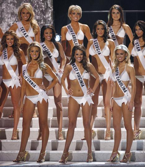 2009美国小姐选美大赛北卡罗来纳佳丽夺冠(图)