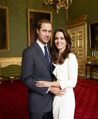 威廉王子与未婚妻(资料图)