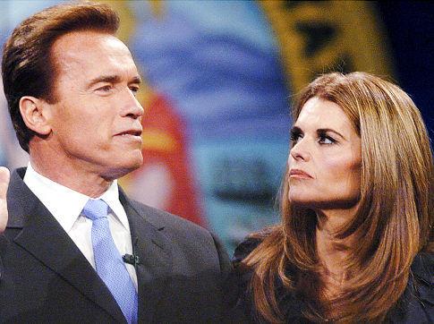 施瓦辛格和妻子
