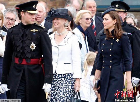 传凯特王妃喜怀龙凤胎系英国王室史上第一次