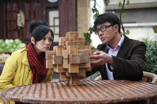 资料图片:电视剧《古今大战秦俑情》现代剧照(5)