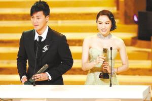 TVB颁奖大典《溏心风暴》上演拿奖风暴(组图)