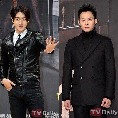 Super Junior成员崔始源、JYJ成员朴有天