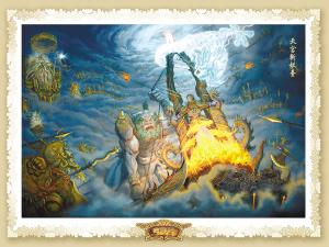 《西游记》设计图曝光被称可媲美《魔戒》(图)