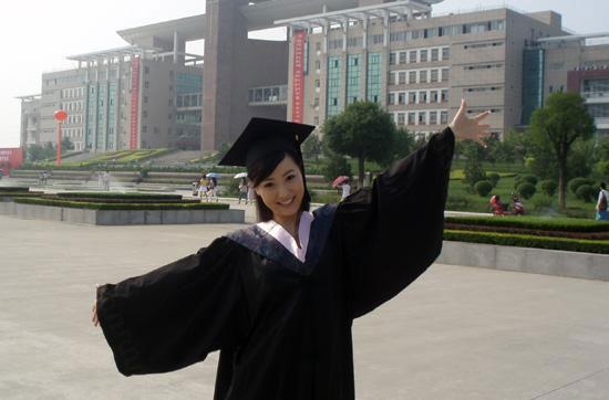 白冰顺利大学毕业 演新《红楼梦》宝钗信心十
