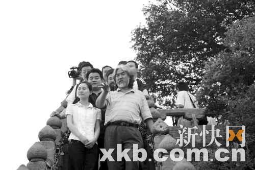 《倚天屠龙记》武当山开机邓超回应质疑(图)