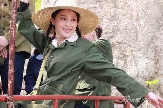 《生死正名》甘婷婷走清纯路线饰演女知青(图)