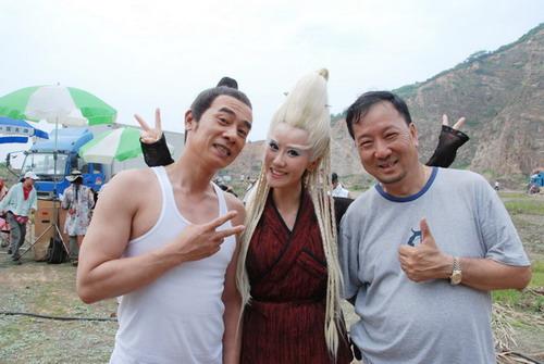 《碧波仙子》热拍于咏琳陈小春首次携手合作