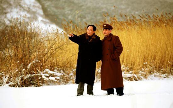 《东方》雪中拍摄