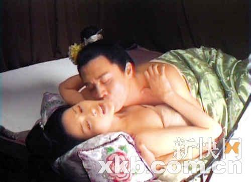 新《水浒》西门庆潘金莲大尺度床戏爆出图