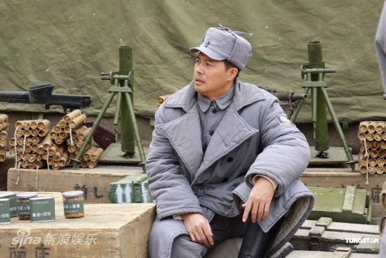 佟瑞欣在《奸细》片场