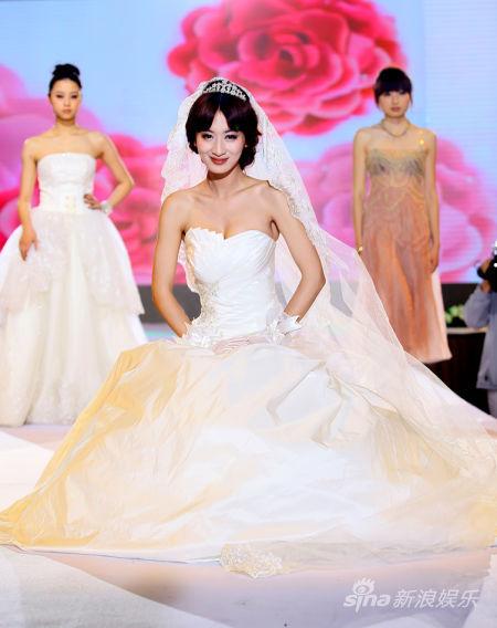 郭珍霓婚纱造型