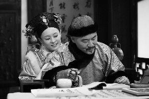 陈建斌和孙俪在剧中分饰雍正和甄��