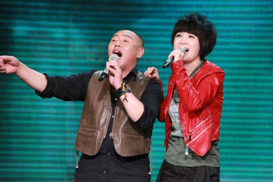 李杰和斯琴格日勒合唱《水上花》