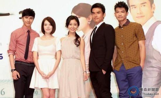 谢佳见、许玮甯、林心如 (微博)、杨一展与邹承恩为新戏亮相
