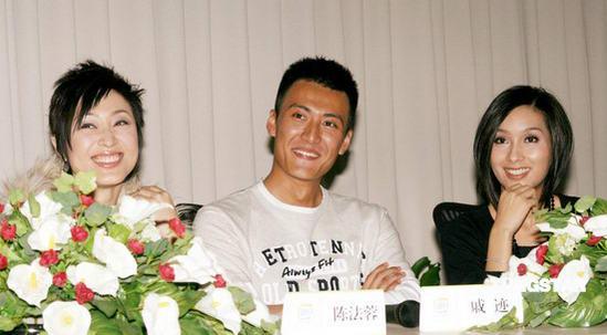 组图:陈法蓉与杨恭如亮相《暴雨梨花》发布会