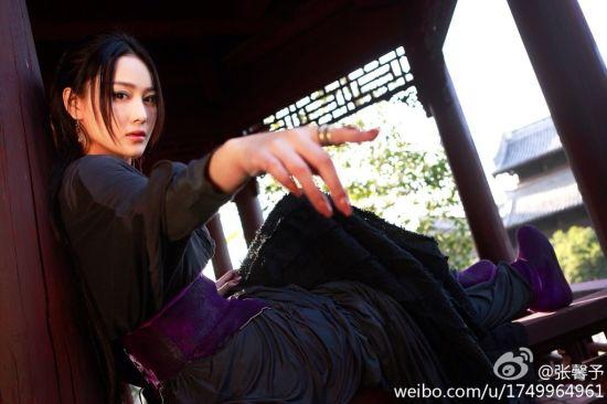 张馨予在新《天龙八部》演马夫人康敏