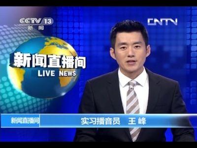 央视实习主播王峰