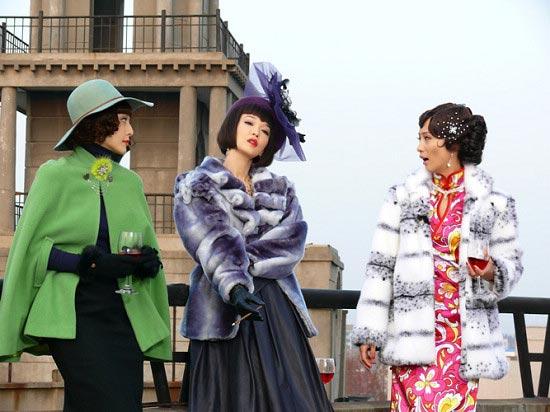 图文:《金大班》正式开机--三个女人一台戏