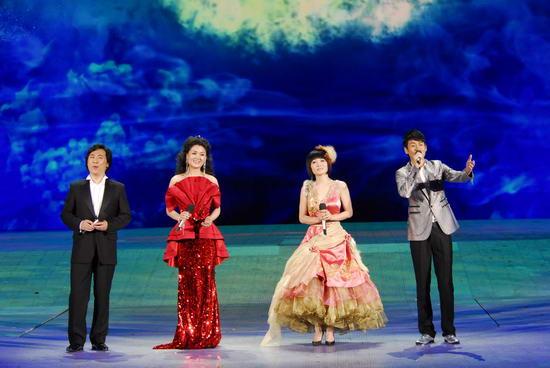 图文:09年央视春节晚会--歌曲《中国之最》