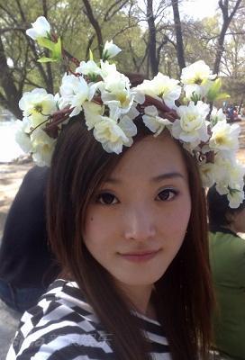 """图文:""""天使""""首批报名选手--北京舞蹈学院李晋燕"""