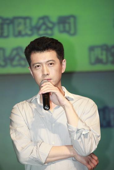 图文:《漂亮女人》发布会--王同辉