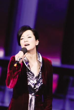 毛阿敏春晚演唱《天之大》为怀念母亲(图)