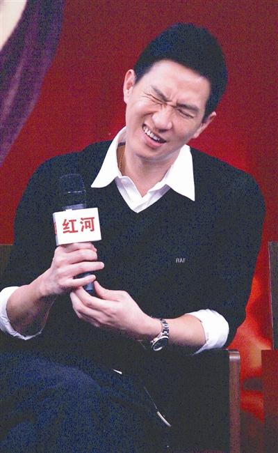 张家辉:太太是我最大收获(图)
