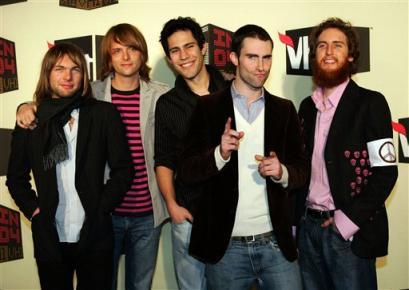 魔力红(Maroon5)--2008世界巡演上海演唱会