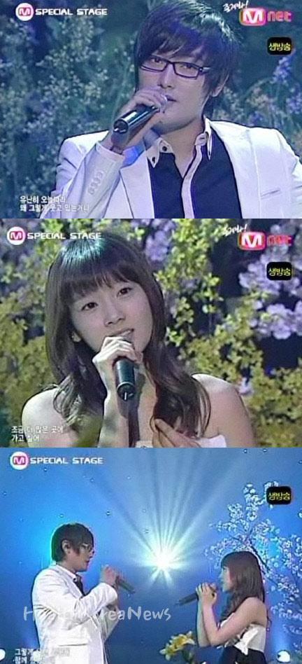 安七炫服役前最后亮相荧屏与少女时代泰妍对唱