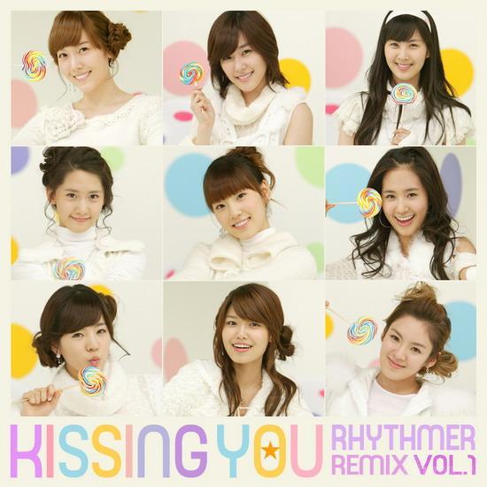 少女时代《kissing you》泰国音乐榜三连冠图