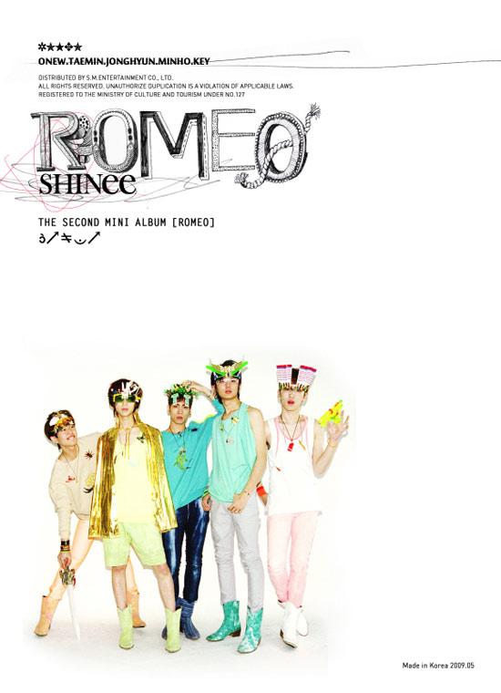 SHINee将发新碟《ROMEO》音乐银行闪耀回归