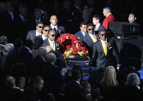 迈克尔-杰克逊公众悼念活动在洛杉矶举行(图)