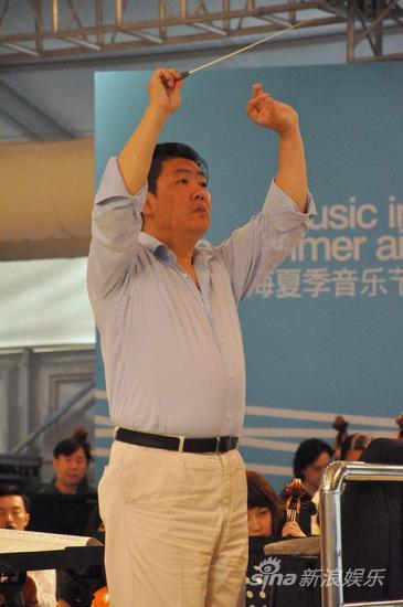 上海夏季音乐节余隆携上交首次篷房音乐厅排练