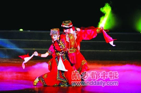 《洒满阳光的新疆》保利剧院献演感受民族文化